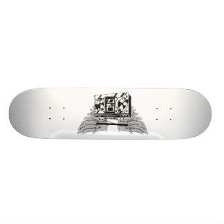 Flying Boombox 21.3 Cm Mini Skateboard Deck