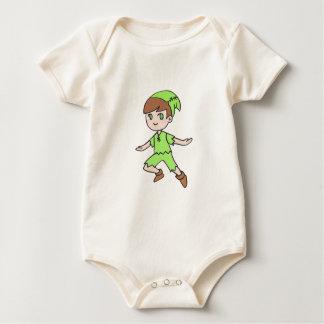 FLYING BOY BABY BODYSUIT