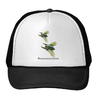 Flying bugs cap