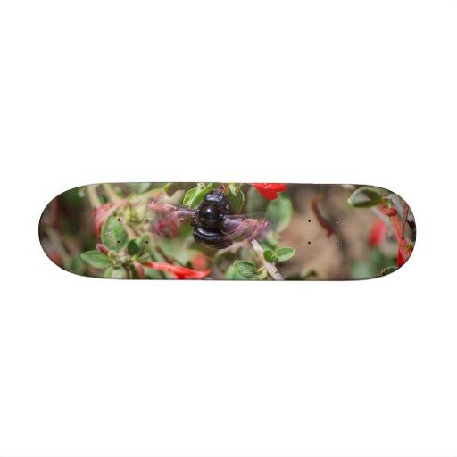 Flying Bumblebee Skateboard Deck