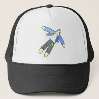 Flying Bunny Trucker Hat
