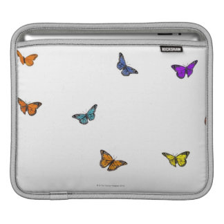 Flying butterflies iPad sleeve