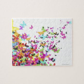 Flying Butterflies Puzzle