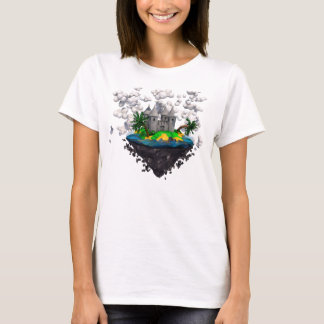 Flying castle shirt