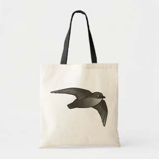 Flying Chimney Swift Budget Tote Bag