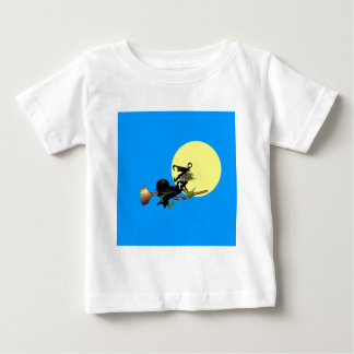 Flying Christian Witch Tee Shirts