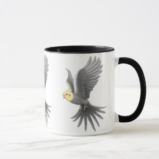 Flying Cockatiel Mug
