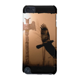 Flying Crow & Totem Pole First Nations-style iPod Touch (5th Generation) Covers