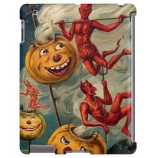 Flying Devils Jack O' Lantern Smoke iPad Case