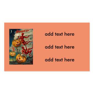 Flying Devils Jack O' Lantern Smoke Pack Of Standard Business Cards