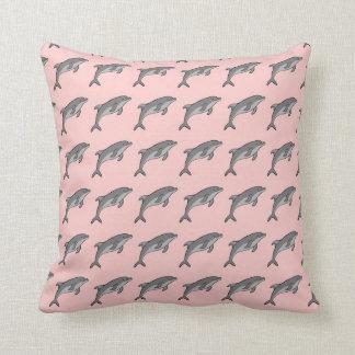 Flying Dolphins Cushion