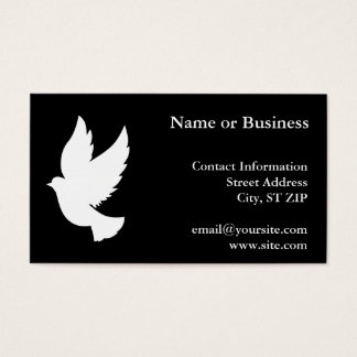 Flying Dove Business Card