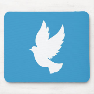 Flying Dove Mouse Mat
