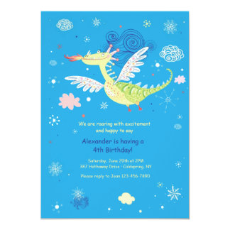 Flying Dragon Invitation