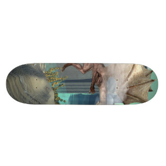 Flying dragon skate deck