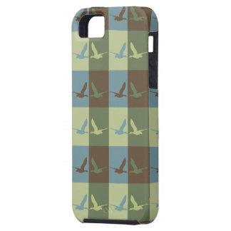 Flying Duck Pop Art Cell Phone Case