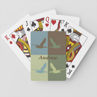 Flying Duck Pop Art Deck of Cards