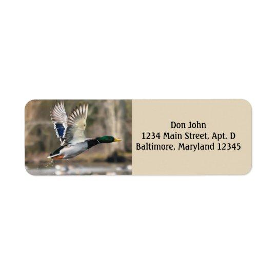 Flying Duck Return Address Labels