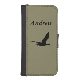 Flying Duck Wallet Styled Phone Case