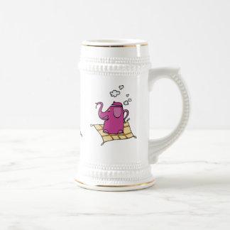 Flying Elephant Tea Kettle Coffee Mug
