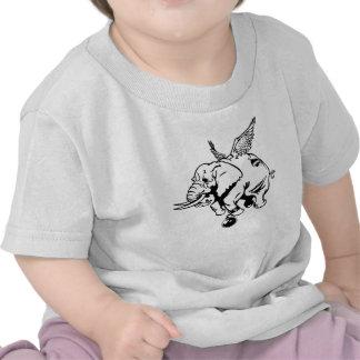 Flying Elephant T-shirts