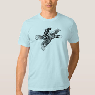 Flying elf t-shirt design