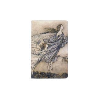 Flying Fairies Pocket Moleskine Notebook