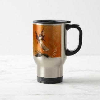 Flying fairy coffee mugs