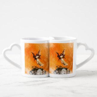 Flying fairy lovers mug