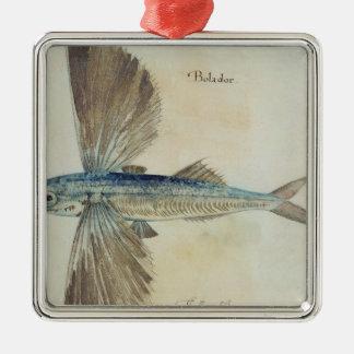 Flying-Fish Christmas Ornament