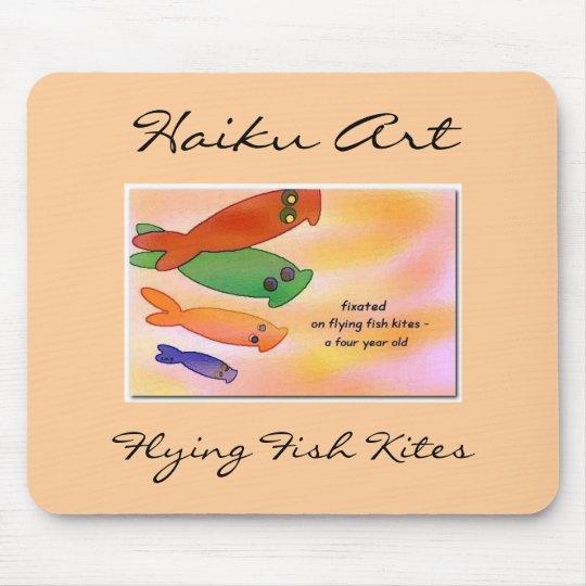 Flying Fish Kites Mouse Mat