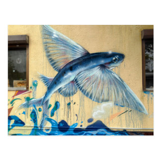 Flying Fish No.2 Postcard
