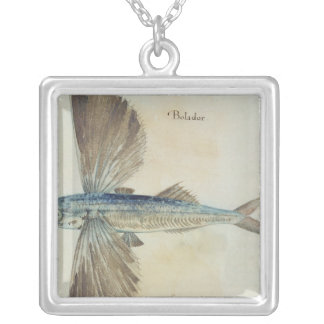 Flying-Fish Silver Plated Necklace