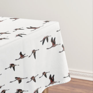 Flying Flamingos Tablecloth (choose colour)
