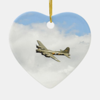 Flying Fortress Christmas Ornament