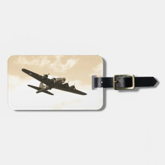 Flying Fortress In Flight Bag Tag