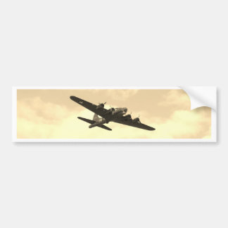 Flying Fortress In Flight Bumper Stickers