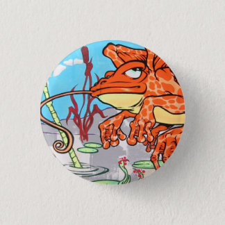 Flying Frog 3 Cm Round Badge