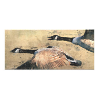 Flying Geese BookMark Rack Card