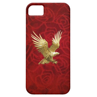 Flying Gold Eagle Case For The iPhone 5