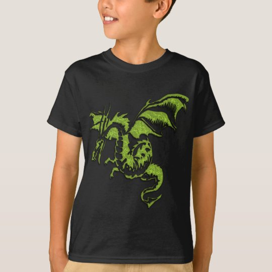 Flying Green Dragon T-Shirt