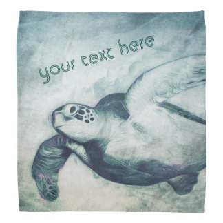 Flying Green Sea Turtle | Bandana