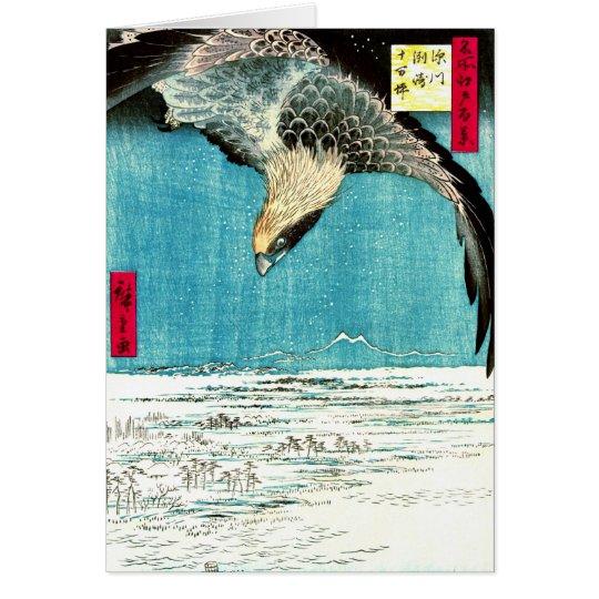 Flying Hawk 1857 Card