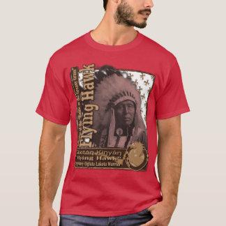 Flying Hawk Oglala Lakota Warrior T-Shirt
