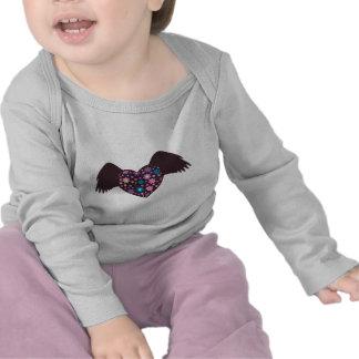 Flying Heart - Violet Shirt