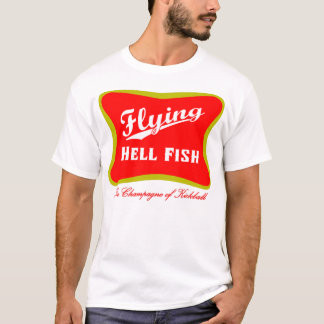 Flying Hellfish Champagne Shirt