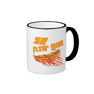 Flying High 35th Birthday Gifts Ringer Mug