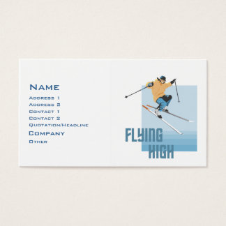 Flying High Business Card