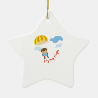 Flying High Christmas Ornament