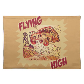 flying high rally car place mats